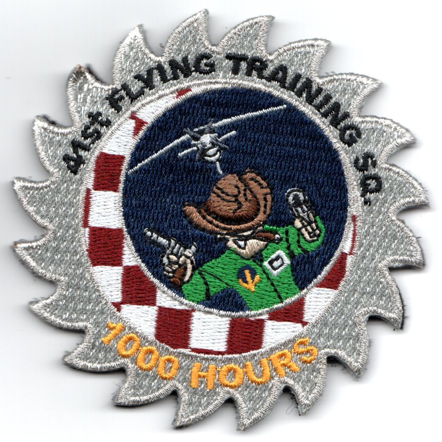 41FTS '1000 HOURS' Sawblade Patch