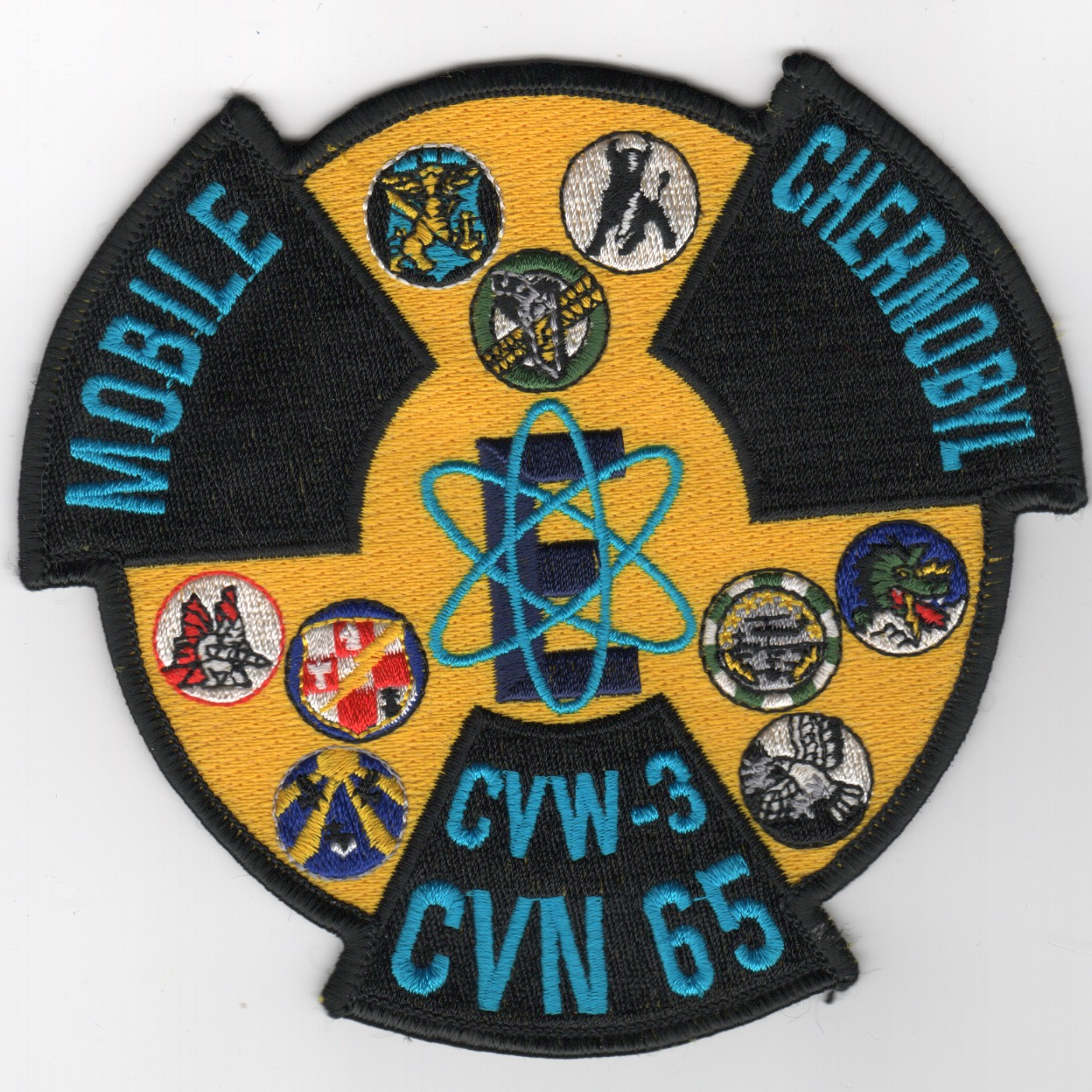 430) CVN-65 'MOBILE CHERNOBYL' Cruise Patch