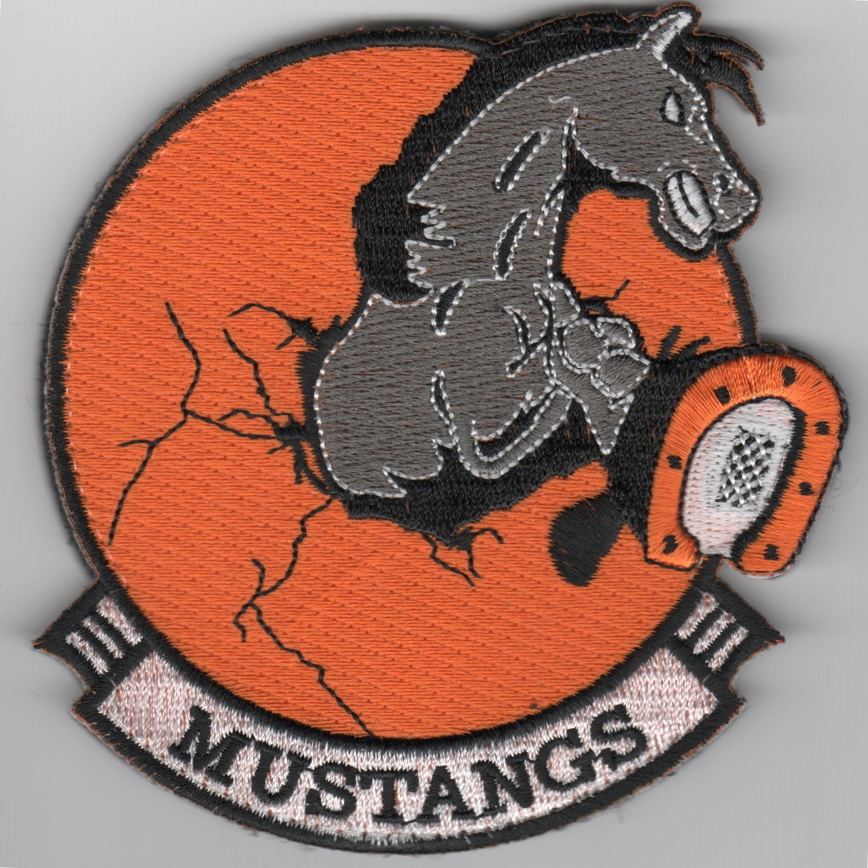 436th Training Squadron 'Mustangs' (Velcro)