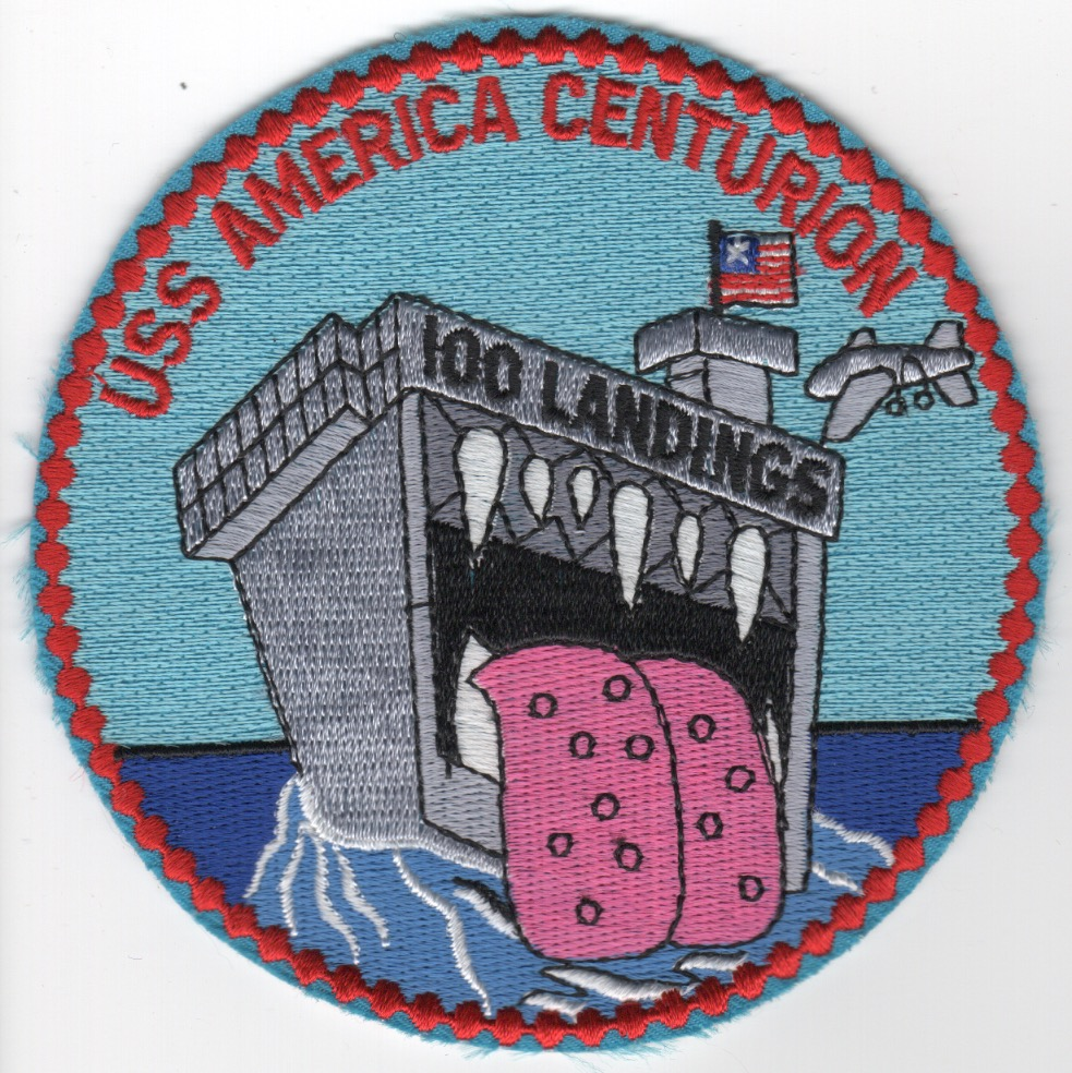 451) CV-66 'CENTURION' Patch
