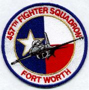 457FS F-16 Aircraft Patch