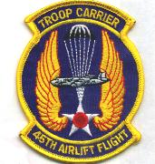 45th Airlift Flight Patch