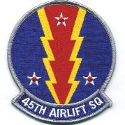 45th Airlift Squadron Patch