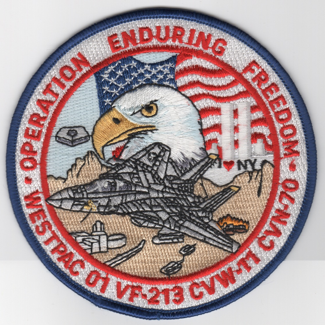 478) VF-213/CVN-70 2001 OEF/WESTPAC Patch
