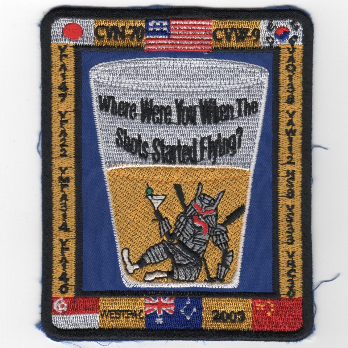 486) CVN-70/CVW-9 2003 WESTPAC/OEF Patch