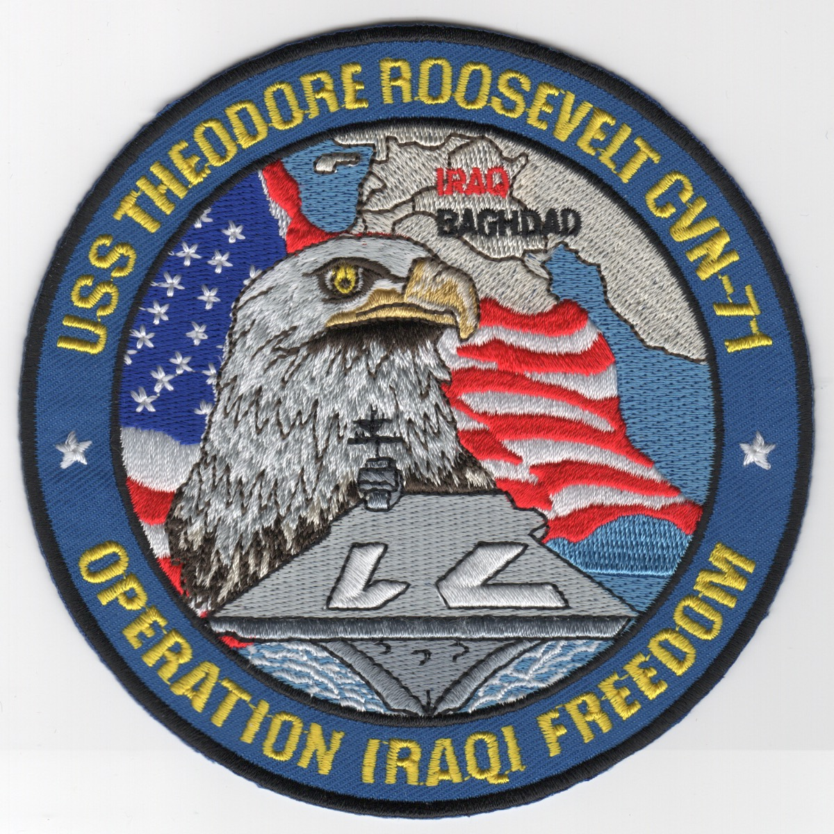 493) CVN-71 'OIF' Cruise Patch