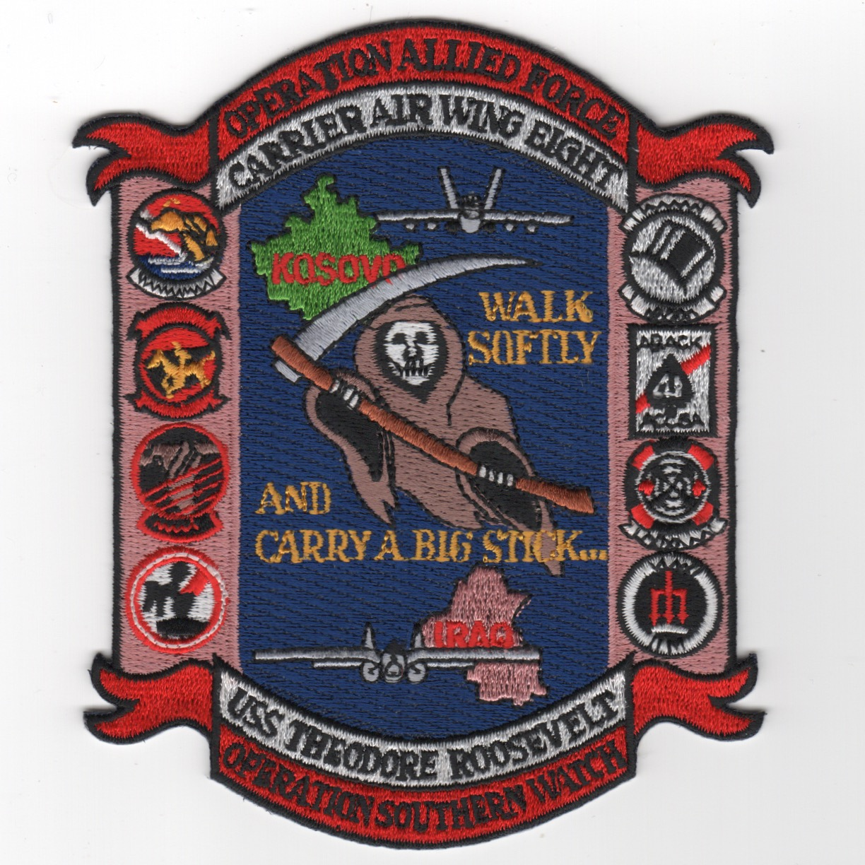 499) CVN-71/CVW-8 'OAF/OSW' Cruise Patch