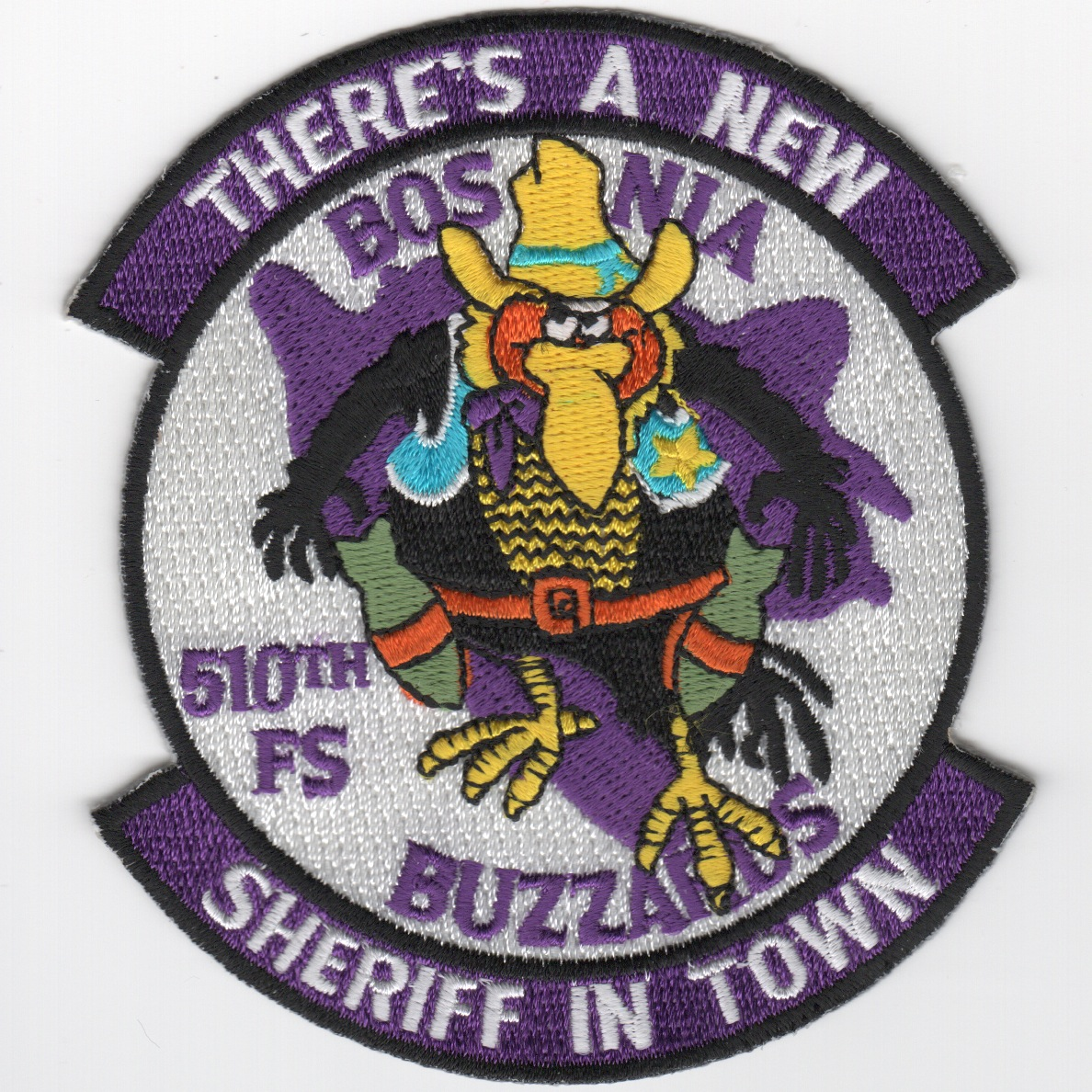 510FS 'New Sheriff In Town' Patch