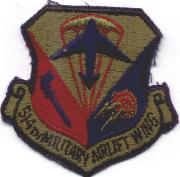 514th Military Airlift Wing Crest (Subdued)
