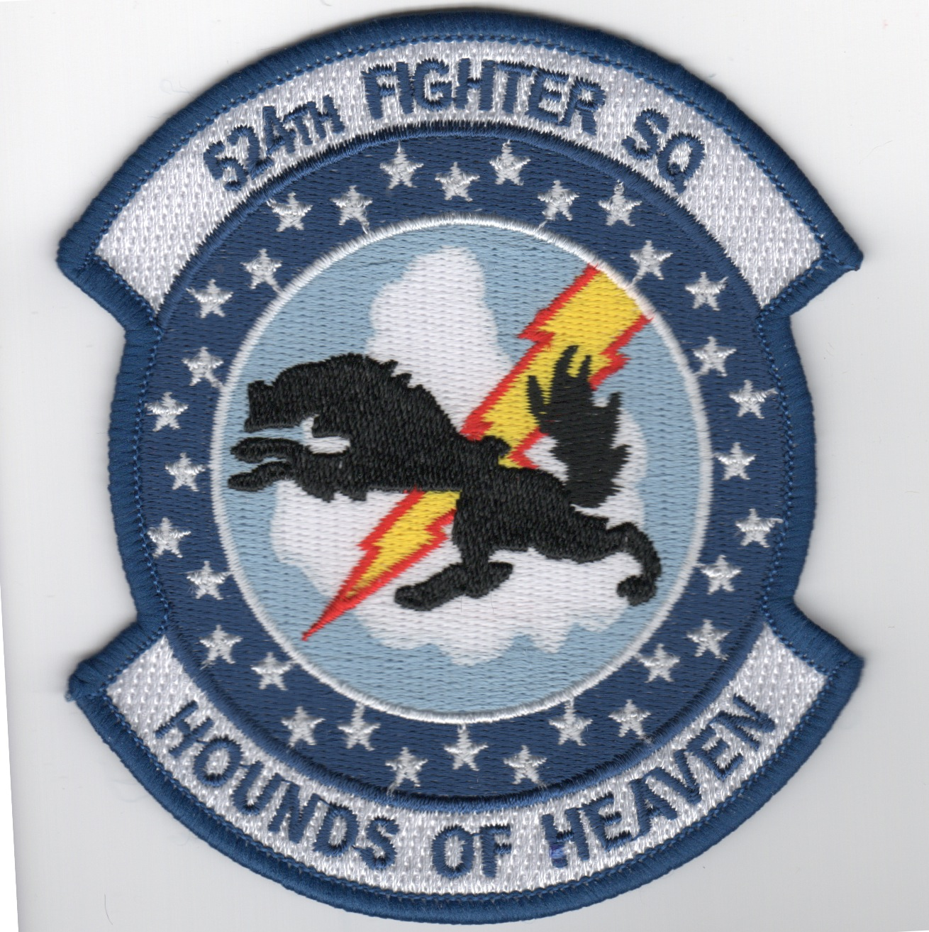 524FS 'HoH' Patch (Large/Blue Border)
