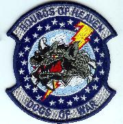 524FS 'HoH/DoW' Patch (Blue Border)