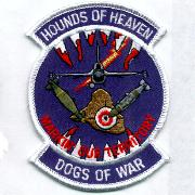 524FS 'Hounds of War (Top)' Patch (White Border)