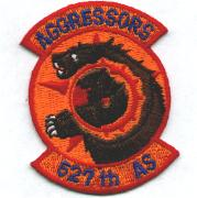 527th Aggressor Squadron Patch (Small)