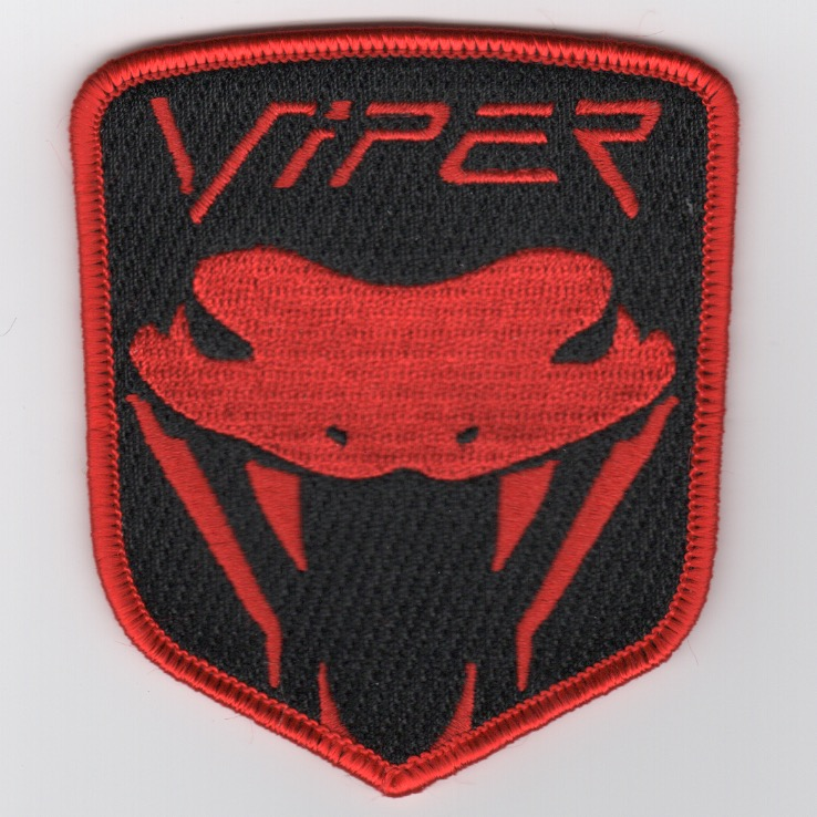 53FTS 'Viper' Class Patch (Red/Black)