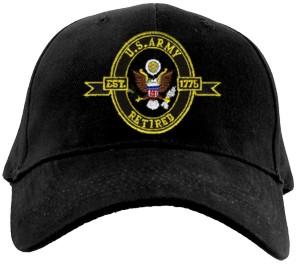 US Army RETIRED Ballcap