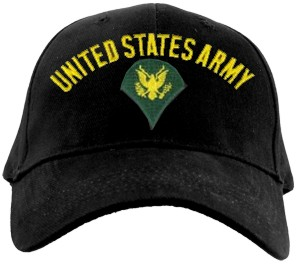 US Army SPECIALIST Ballcap