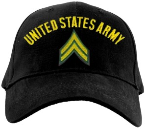 US Army CORPORAL Ballcap