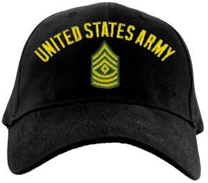 US Army FIRST SERGEANT Ballcap