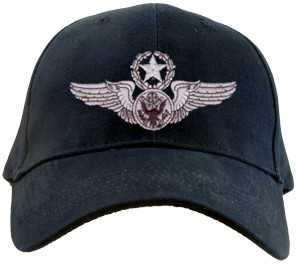 USAF MASTER ENLISTED AIRCREW Wings Ballcap
