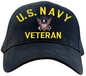 US NAVY VETERAN Ballcap