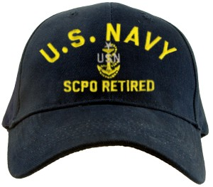 USN SCPO RETIRED Ballcap