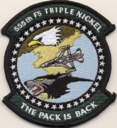 555FS 'The Pack Is Back' Patch