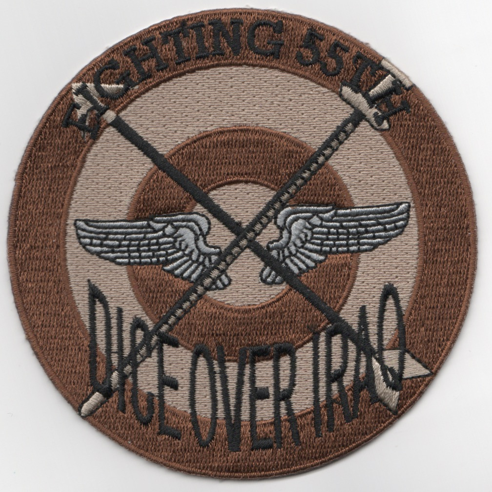 55FS 'Dice Over IRAQ' Patch (Des)