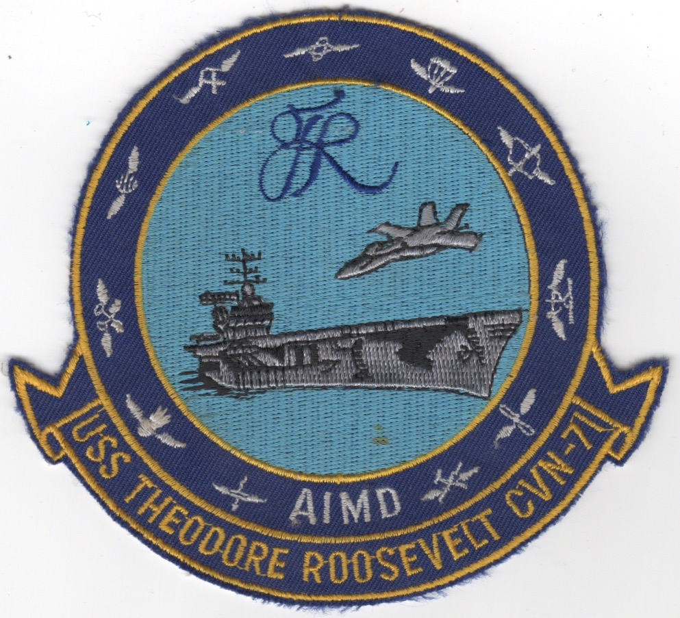 CVN-71 'AIMD' Patch (Blue)