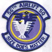 56th Airlift Squadron Patch