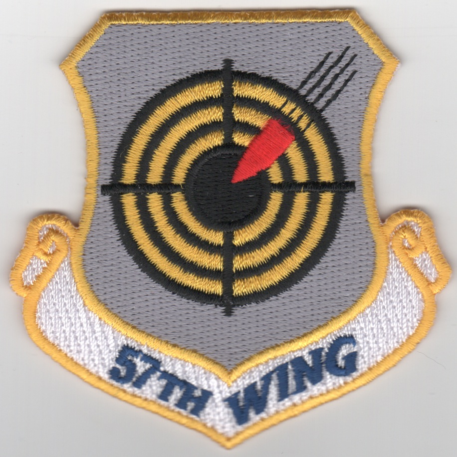 57th Fighter Wing Crest