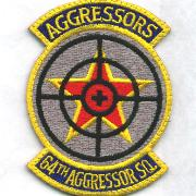 64th Aggressor Squadron Patch (Large)