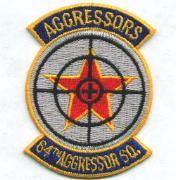 64th Aggressor Squadron Patch (Small)