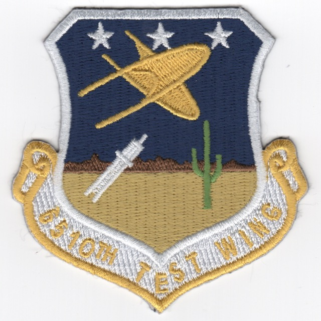 6510 Test Wing Crest Patch