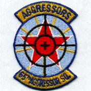 65th Aggressor Squadron Patch (Small)