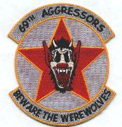 69th Aggressor Squadron Patch