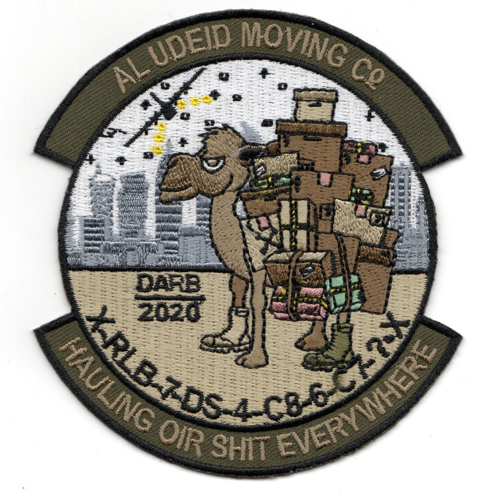 700ALS 'AUAB MOVING Company' Patch