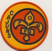 706th Fighter Squadron Patch