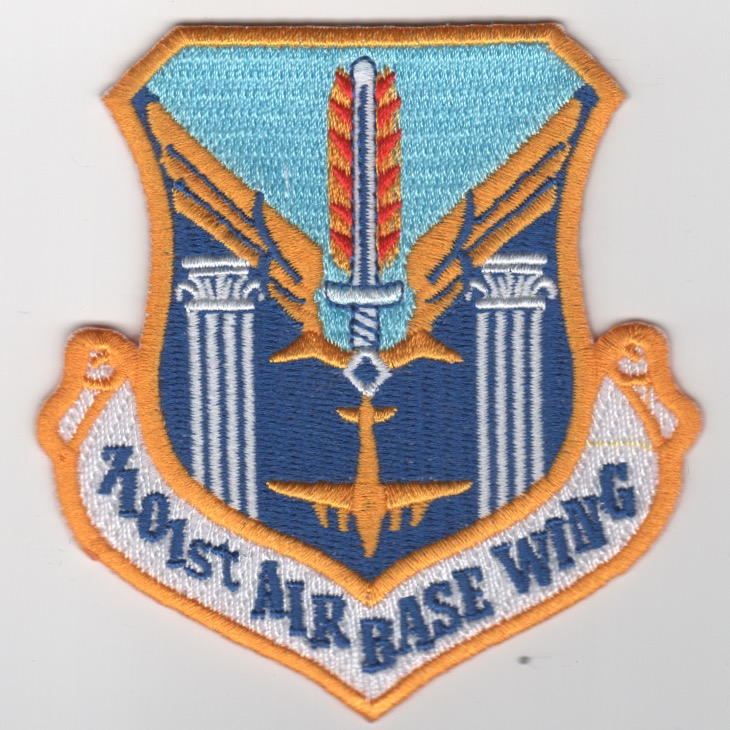 7101st 'AIR BASE WING' Crest (Repro)