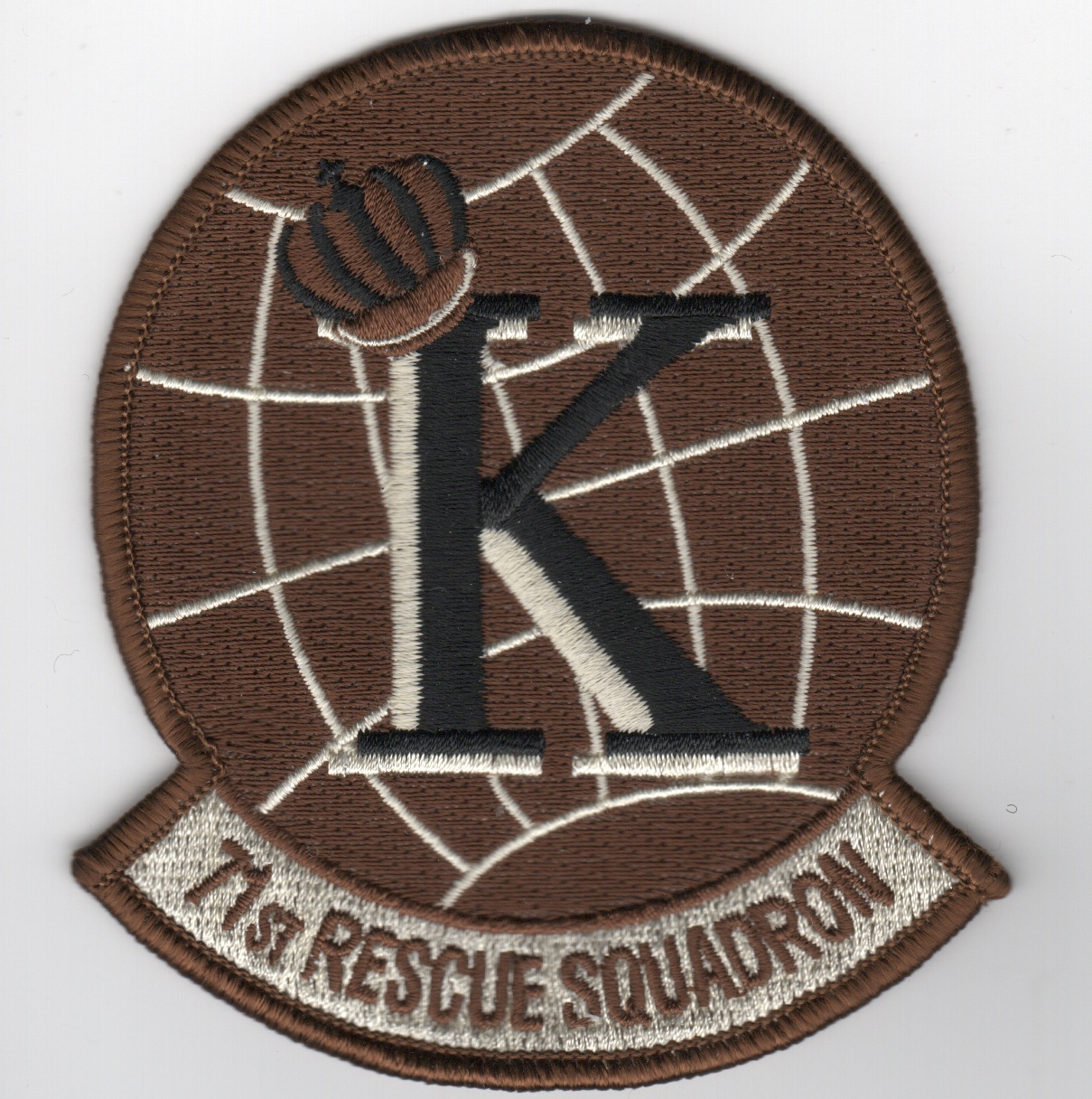 71st Rescue Sqdn Patch (Des)