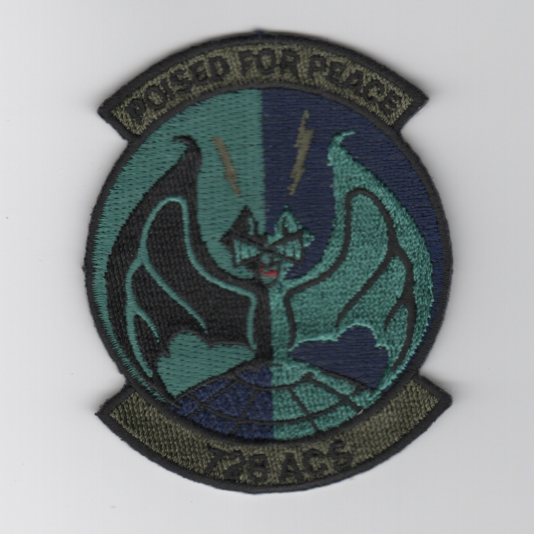 728 ACS Squadron Patch (Subd)