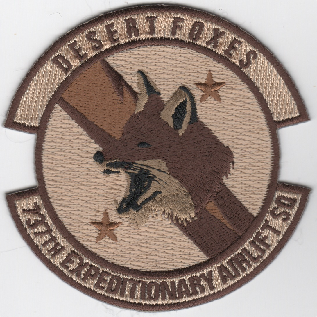 737th Expeditionary Airlift Sqdn Patch (Des)