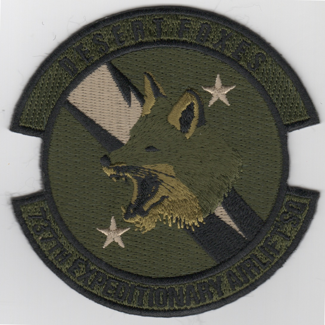 737th Expeditionary Airlift Sqdn Patch (Subd)
