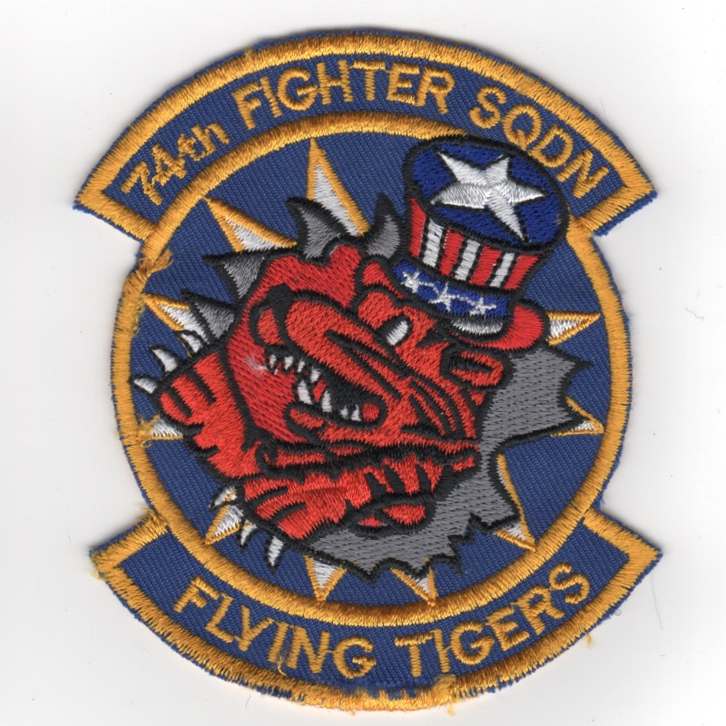 74FS 'Flying Tigers' (Blue/2-Tabs/Orange/K)