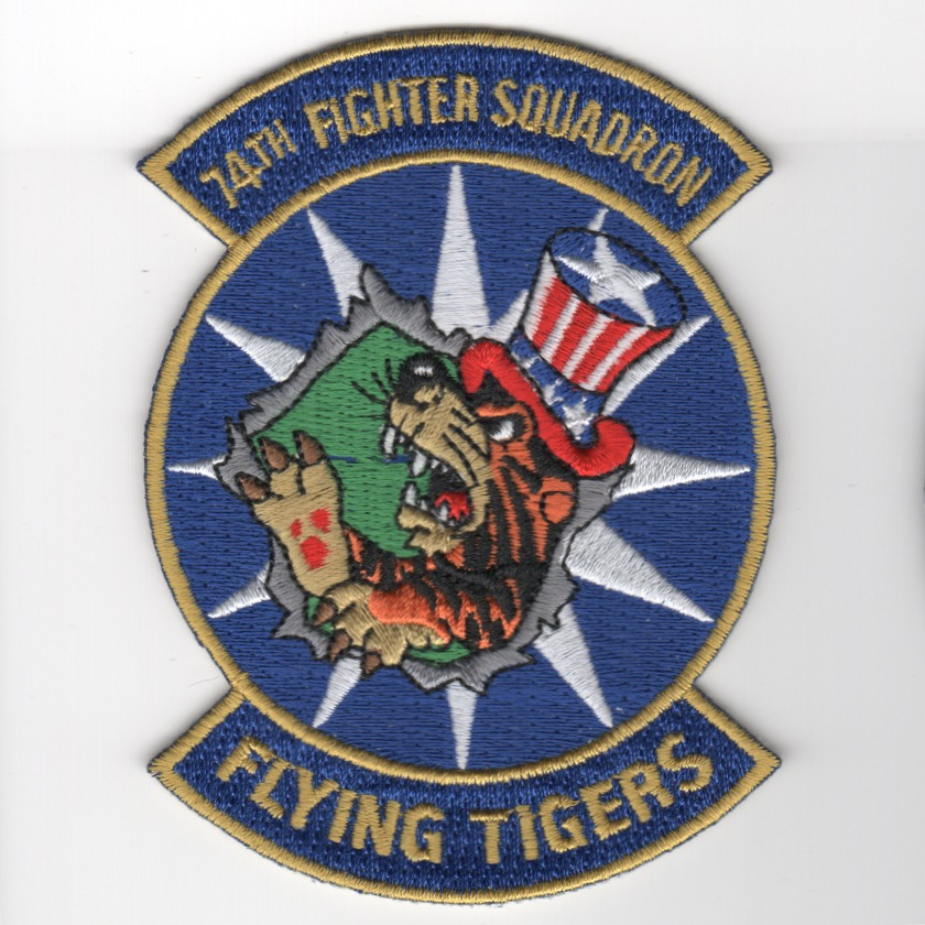 74th Fighter Squadron (Blue/2-Rockers)