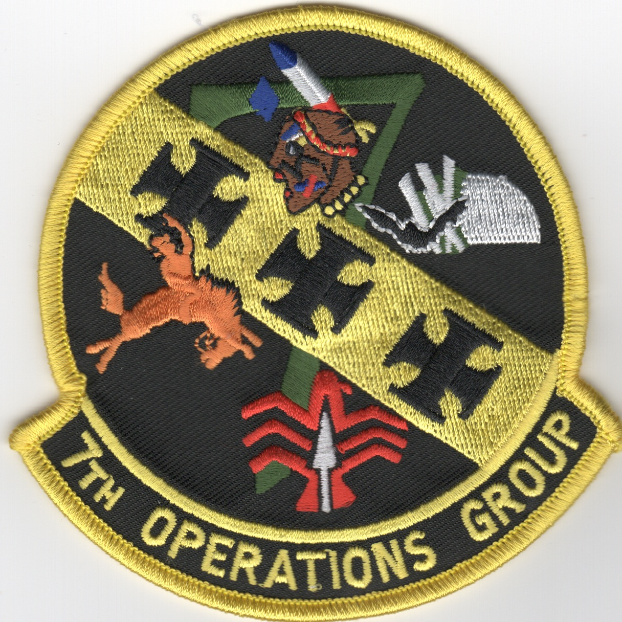 7th Operations Group Patch