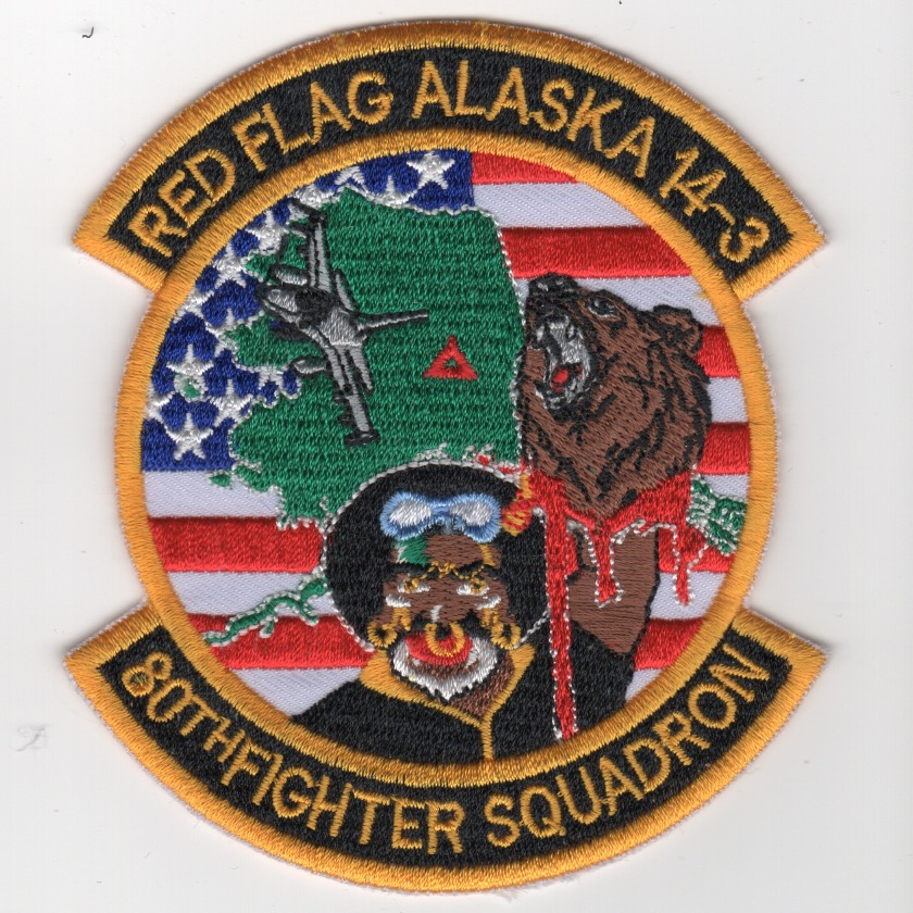 80FS 'Red Flag/Alaska 14-3' (Ylw-Blk/K)