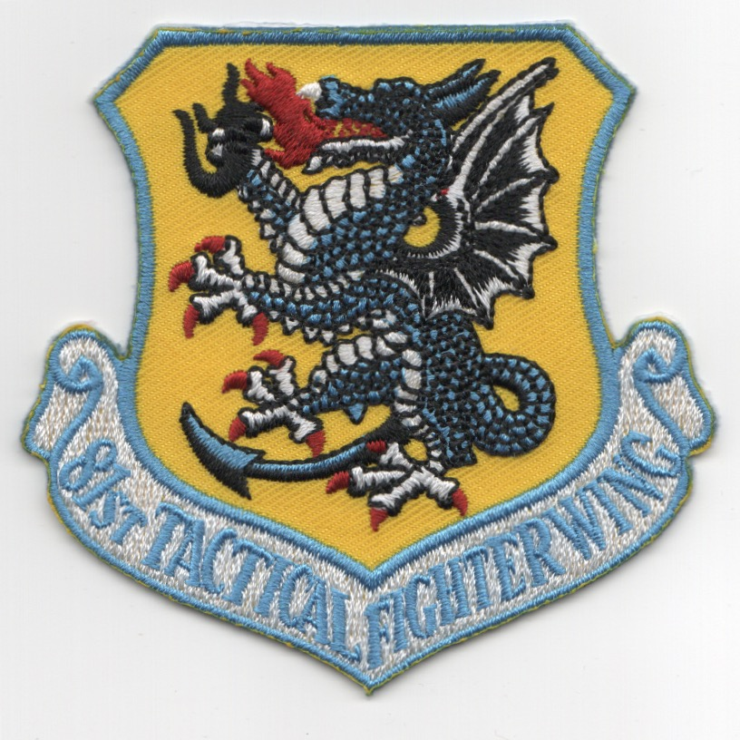 81st Tactical Fighter Wing (Blue/Repro)