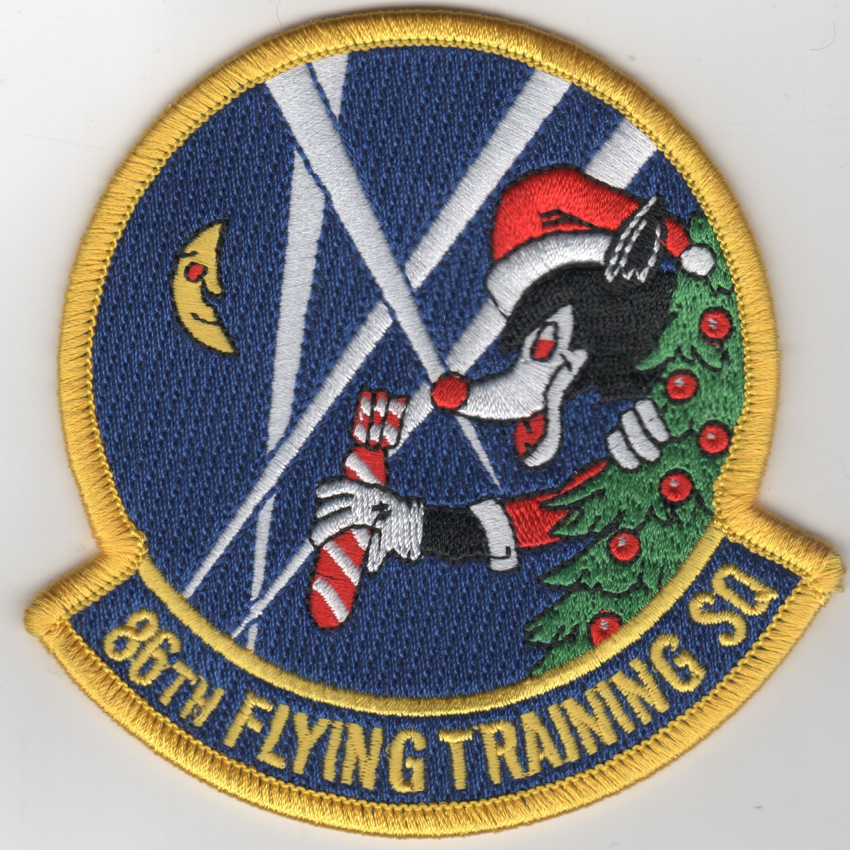 86FTS 'Christmas' Patch