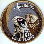 86FTS 'Grad Flight' Patch (Des)
