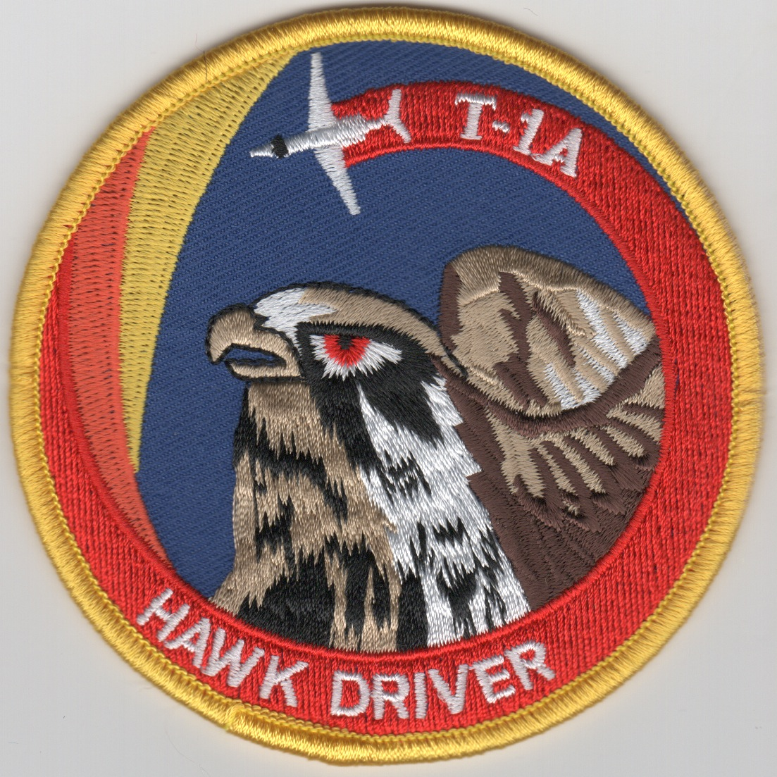 86FTS 'T-1A Hawk Driver' Patch (Swirl)